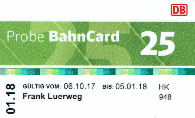 Viele Menschen haben eine Bahncard, obwohl es sich für sie gar nicht lohnt.