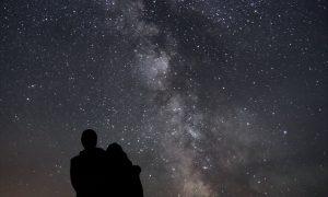 Astronomen der Universität Bonn haben das bislang schärfste Bild der Milchstraße erstellt (c) Frank Luerweg