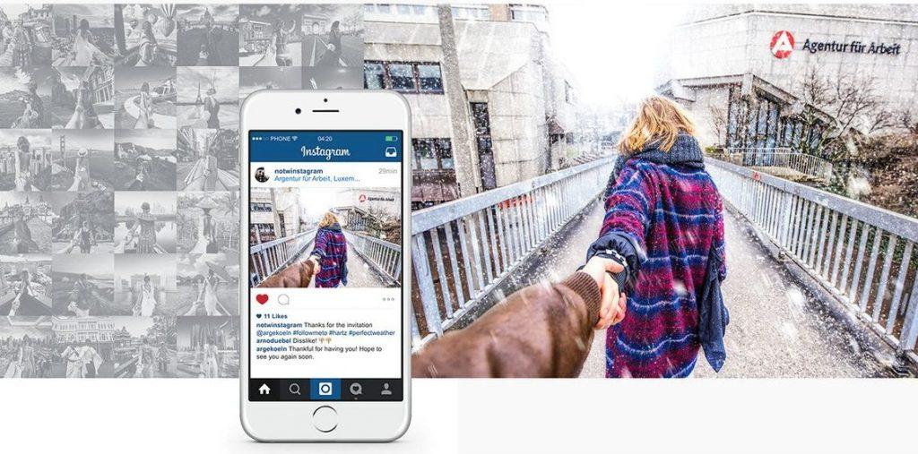 Der Mediendesigner Daniel Reuber hat in seiner Bachelor-Arbeit typische Bilder auf Instagram und Co. persifliert. (c) Daniel Reuber
