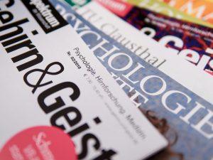 Zeitschriften und Forschungsbroschüren
